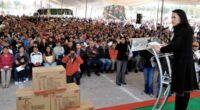 Cuautitlán Izcalli, Méx.- La presidenta municipal, Alejandra Del Moral Vela, junto con Rogelio Tinoco García, director de Servicios Educativos Integrados al Estado de México (SEIEM), encabezaron la magna entrega de […]