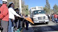 Naucalpan, Méx.- El relleno sanitario de Santiago Tepatlaxco reanudó el servicio de recepción y manejo de residuos sólidos, gracias a las negociaciones que la Presidenta Municipal de Naucalpan, Azucena Olivares, […]