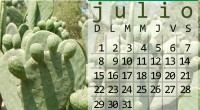 Descarga el calendario de este mes. Versión para pantallas en formato amplio Para pantallas en formato 4:3