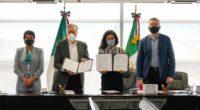 Luisa María Alcalde Luján, titular de la Secretaría del Trabajo y Previsión Social (STPS) y Manuel Bartlett Díaz, director general de la Comisión Federal de Electricidad (CFE), en cumplimiento de […]