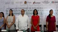 Lorena Cruz Sánchez, presidenta del Instituto Nacional de las Mujeres (Inmujeres), encabezó la firma del Convenio por la Igualdad con el Gobierno de Quintana Roo, donde destacó que esta entidad […]