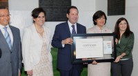 Toluca, Méx.- El gobernador Eruviel Avila Villegas atestiguó la firma de la Alianza por el Municipio Educador de Toluca, que realizó la alcaldesa de la capital mexiquense, Martha Hilda González […]