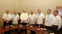 El secretario de Turismo del Gobierno de México, Miguel Torruco Marqués, firmó como Testigo de Honor los Acuerdos de Colaboración entre la Asociación de Secretarios de Turismo (ASETUR), que preside […]
