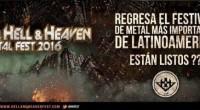 Concebido inicialmente como un proyecto promulgado por un comité de empresarios que compartían su afición al metal en todas sus vertientes, el reconocido festival Hell and Heaven anuncia de manera […]