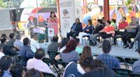 """Al inaugurar el taller El Derecho a la Ciudad y el Espacio Público, la alcaldesa Clara Brugada Molina convocó a los comerciantes y habitantes de Iztapalapa a construir un """"gran […]"""