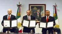 El Secretario del Trabajo y Previsión Social, Alfonso Navarrete Prida, afirmó que los resultados obtenidos en la negociación contractual entre el Instituto Mexicano del Seguro Social (IMSS) y su Sindicato, […]