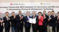 Las empresas LG Electronics y Microsoft firmaron un memorando de entendimiento para mejorar y hacer crecer el negocio de los sistemas autónomos de información y vehículos de LG. Bajo los […]