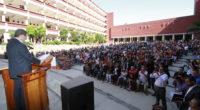 Durante su visita a la Benemérita Escuela Normal de Maestros (BENM), después de 32 años de que un secretario de Educación Federal no asistía a esta institución, Moctezuma Barragán presenció […]