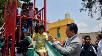 Naucalpan, Méx.- En seis meses de administración hemos entregado 7 parques, afirmó el presidente municipal David Sánchez Guevara, al dar cumplimento a su Compromiso 103, la rehabilitación del Parque Álamos […]