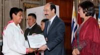 La Secretaría de Educación Pública (SEP), a través de la Dirección General de Educación Indígena, entregó reconocimientos a los 50 alumnos ganadores de quinto y sexto año de primaria del […]