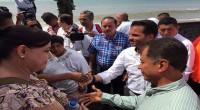 Tras el paso del huracán Patricia por los estados de Jalisco, Colima, Michoacán y Nayarit, el Procurador Federal de Protección al Ambiente, Guillermo Haro Bélche, en compañía del secretario del […]