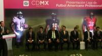 Miguel Ángel Mancera, jefe de gobierno en la Ciudad de México, presento oficialmente a la Liga Profesional de Futbol Americano (LFA), que inicia actividad el 21 de febrero, con cuatro […]