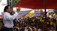 Amecameca, Méx.- El candidato a la presidencia municipal por el PRD, Miguel Ángel Salomón, se comprometió a impulsar el empleo mediante la creación de parques ecoturísticos, hacer llegar el agua […]