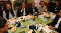 El secretario de turismo de Querétaro, Hugo Burgos García, acompañado por empresarios vitivinícolas del estado, presentaron la temporada de vendimias de la Ruta Arte, Queso y Vino, a donde esperan […]