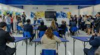 """La empresa Samsung Electronics México, inauguró un aula digital Smart School Solution en la Escuela Secundaria Técnica 66, """"Francisco J. Mujica"""", ubicada en la delegación Venustiano Carranza, Ciudad de México, […]"""