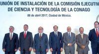 El titular del Consejo Nacional de Ciencia y Tecnología (Conacyt), Enrique Cabrero Mendoza, e integrantes de la Conferencia Nacional de Gobernadores, sostuvieron la reunión de instalación de la Comisión Ejecutiva […]