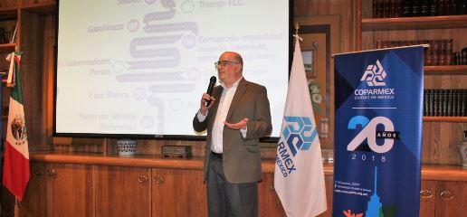 Al encabezar la primera reunión de la recién creada Comisión de Desarrollo Democrático de la COPARMEX CDMX, el presidente del Centro Empresarial, Jesús Padilla Zenteno dijo que los empresarios de […]