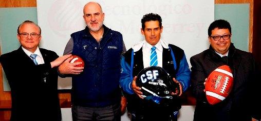 """En conferencia de prensa, autoridades del Tecnológico de Monterrey Campus Santa Fe, presentaran al Head Coach y director de Fútbol Americano del equipo """"Borregos"""" CSF, cargo que recayó en Héctor […]"""