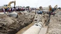 La Comisión Nacional del Agua (Conagua), informó que mediante el Organismo de Cuenca Aguas del Valle de México (OCAVM), repara la falla súbita e intempestiva registrada en el kilómetro 27+919 […]