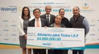 Fundación Walmart de México dio a conocer que donó cuatro millones de pesos a Alimento para Todos I.A.P., para capacitar a 62 organizaciones dedicadas al acopio de alimentos en términos […]