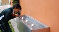 Dur. Durango.- En la presentación del Centro de Hidratación de agua potable (bebederos) en la escuela rural Cuauhtemoc en El Pueblito, Durango, proyecto que se llevará a cabo en 741 […]
