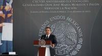 """En la celebración del 198 aniversario luctuoso de José María Morelos y Pavón, hombre insignia de la Independencia nacional, fue catalogado que """"en su momento, rompió ataduras, enfrentó resistencias para […]"""
