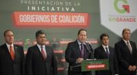 """Toluca, México.- El gobernador Eruviel Ávila envía una iniciativa de ley a la Legislatura local para que en la Constitución del Estado de México se establezca la figura de """"gobierno […]"""