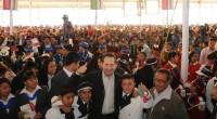 Chimalhuacán, Méx.- El gobernador de la entidad, Eruviel Avila Villegas, entregó 95 millones de pesos del Programa General de Obra del Gobierno del Estado de México con cuyos recursos económicos […]