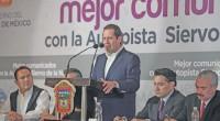 El gobernador mexiquense, Eruviel Ávila Villegas, dio a conocer que este año iniciará la construcción de la autopista «Siervo de la Nación», que correrá a lo largo de 14.5 kilómetros […]