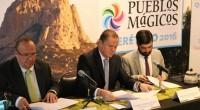 El Secretario de Turismo de Querétaro, Hugo Burgos García junto con el Subsecretario de Innovación y Desarrollo Turístico de la SECTUR federal, Gerardo Corona González y el Director General de […]