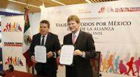 Se llevó a cabo la firma de un convenio de trabajo entre elSindicato Nacional de Trabajadores de la Educación (SNTE) y la Secretaría deTurismo (SECUR), paraimpulsar el turismo interno y […]