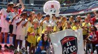 Luego de más de tres meses de intensa competencia, se celebró en el Estadio Azteca de la Ciudad de México, la Gran Final Nacional de Futbolito Bimbo 2017, donde se […]