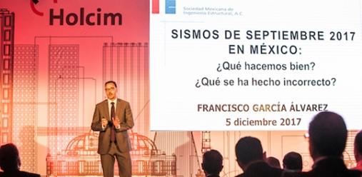 """Holcim México celebró el """"Primer Foro para la Reconstrucción"""" con la finalidad de evaluar lo ocurrido tras los terremotos de septiembre pasado, las acciones que se tomaron, las afectaciones que […]"""