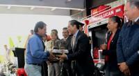 """En el marco del festejo por el """"Día de Bombero"""", el ayuntamiento de Huixquilucan entregó unidades de emergencia a fin de fortalecer el servicio a la ciudadanía, así como garantizar […]"""