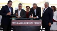 Se dio a conocer que el FOVISSSTE y el INFONAVIT firmaron un convenio marco de colaboración en beneficio de los trabajadores de México, en donde el Director General delISSSTE,José Reyes […]