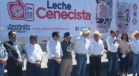 """El primer contenedor de leche de la """"Marca Cenecista"""", producida y envasada en la región de Lagos de Moreno, Jalisco, fue despachado, para su distribución, sin intermediarios, a siete entidades […]"""