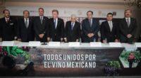 """En la presentación de la campaña """"Todos Unidos por el Vino Mexicano"""", autoridades e iniciativa privada se congratularon de que el vino nacional ya tiene acta de nacimiento, con su […]"""