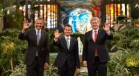 Toluca, Méx.- La reunión cumbre de los tres líderes, Canadá, Estados Unidos y México, con los mandatarios, Sthepen Harper, Barak Obama y Enrique Peña Nieto, fue el apuntalamiento a la […]