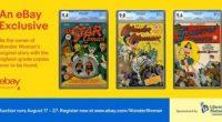 PRNewswire.- En el día de hoy, tres de los libros de historietas más raros de Wonder Woman de todos los tiempos serán vendidos en eBay: el número 1 de Wonder […]