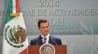 El presidente de la Comisión Nacional de Derechos Humanos, CNDH, Raúl González Pérez, rindió su primer informe de actividades y planteó, ante el Presidente Peña Nieto actualizar los protocolos que […]