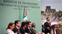 """En evento cumbre, el Presidente Enrique Peña Nieta anunció una gran inversión en turismo y advirtió que el patrimonio de la Naturaleza tiene que protegerse porque """"no es nuestro, debemos […]"""