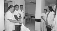 La presidenta del DIF Ecatepec, Verónica Guiscafré de Bedolla, inauguró los trabajos de remodelación del quirófano y la Central de Esterilización y Equipo Quirúrgico (CEYE) de la Clínica Cabecera, luego […]