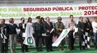 * Ecatepec, Méx.- El gobierno local implantó diversas acciones en seguridad pública para combatir la delincuencia en este municipio. El presidente municipal Pablo Bedolla López, acompañado por el general de […]