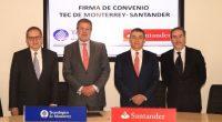 Banco Santander y el Tecnológico de Monterrey dieron a conocer que trabajarán a favor de la educación superior, a través de la renovación de un convenio de colaboración en las […]