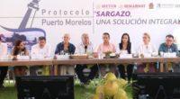 Durante una reunión llevada a cabo hoy en Puerto Morelos, Quintana Roo, y con el objetivo de coadyuvar en la lucha contra el sargazo, el secretario de Turismo del Gobierno […]