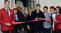 Se llevó a cabo la inauguración del nuevo vuelo trasatlántico de Aeroméxico, en la ruta Ciudad de México-Londres, que transportó al secretario de Turismo, Enrique de la Madrid Cordero, quien […]