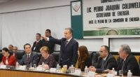 El Secretario de Energía, Pedro Joaquín Coldwell, compareció ante la Comisión de Energía de la Cámara de Diputados, para dar cuenta de la situación que guardan los asuntos que competen […]