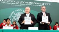 Se llevó a cabo un convenio de trabajo entre la Secretaría de Educación Pública (SEP) y el Gobierno del Distrito Federal (GDF) para poder mejorar la infraestructura de las escuelas […]