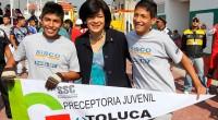 Toluca, Méx.- La presidenta municipal Martha Hilda González Calderón inauguró el Mundialito de la Prevención Toluca 2014, organizado por las Preceptorías Juveniles de Reintegración Social, pertenecientes a la Dirección General […]