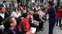 """Toluca, Méx.- La presidenta municipal de esta localidad, Martha Hilda González Calderón, inauguró la Feria de Empleo Mujeres, Adultos Mayores y Discapacitados, bajo el sugestivo nombre: """"Un espacio para ti"""", […]"""